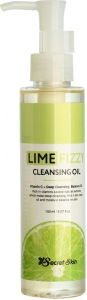 Secret Skin~Гидрофильное масло с лаймом~Lime Fizzy Cleansing Oil